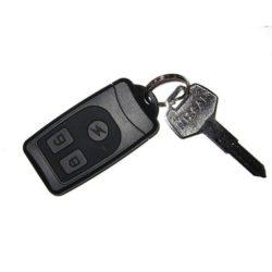 Kulcstartóba rejtett mini poloska lehallgató