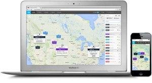 GPS nyomkövető rendszer