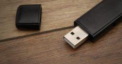 USB hangrögzítő poloska